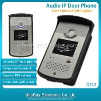 Audio door phone for apartments Q512