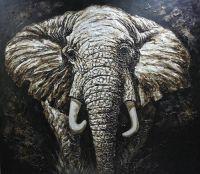 animal handicraft oil painting