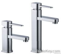 Single Handle Brass Basin Faucet