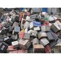 Drained batteries scrap
