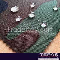1000D 1100 dtex Nylon 6.6 Cordura Camouflage PU Coating Waterproof Fabric