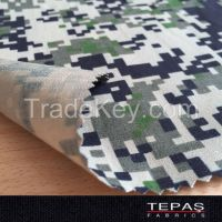 % 100 Cotton RIPSTOP Military Camouflage Printed Fabric