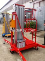 hydraulic 10m facade cleaning lift platform with battery power