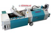 hydraulic scrap baling press side dump hidrokar