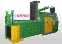 hydraulic scrap baling press front dump hidrokar