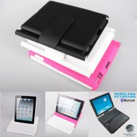 Bluetooth Keyboard Leather Case for Ipad 2/3/4, Model: HK2003-ZJ360