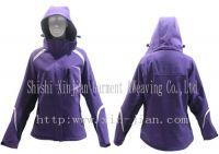 2013 ladies  outdoor waterpfoof  functional jacket