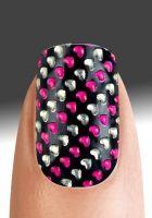 Pretty Woman Fashion Nail 3D Wrapes Nail Sticker