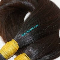 100% Remy HAIR BULK human hair extensions soft & smooth