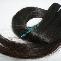 Grade 7A Remy Virgin Human Weaving Straight Hair Extensions