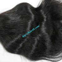 100% Virgin Hair Weft Wavy Human Hair Extensions