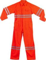 Coveralls with Reflecters