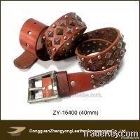 2013 New Fashion Men Studed Belt