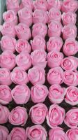 Artificial Perfumed Hand Carving rose Soap Flower for Sale for Wedding and Valentine Gift