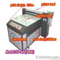Digital flatbed printer, acrylic glass printer, glass uv printer