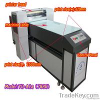 A1 size UV leather belt printing machine, leather straps uv printer