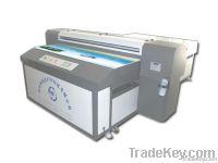 Large formatdigital  flatbed uv printer on LED lamp
