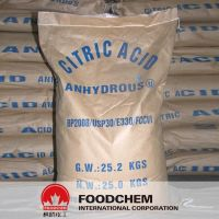 High Purity Food Grade Citric Acid Anhydrous