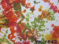 Fashion Spray Colorful Printed Fabrics