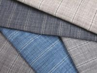Crepe Melange stripe fabrics
