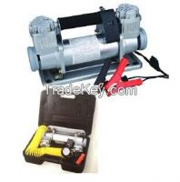 CAR TIRE INFLATOR/ Air Compressor/AIR PUMP With Double Cylinders