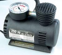 Mini Car Tire Inflator/ Auto Air Cmperssor/Pastic Case Car Tire Air Pump 250PSI