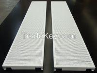 Metal false ceiling-Linear strip panel