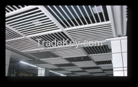Metal false ceiling - round tube