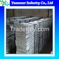 Factory High qualiy zinc ingot /zn ingot 99.5% with best price