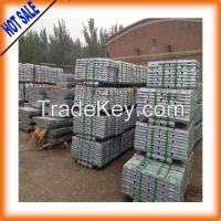high grade zinc ingot 99.99%LME