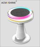 Acmeshine RGB Solar desk led light Solar Table Led light for decoration