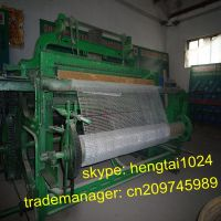 Full Automatic Crimped Wire Mesh Weaving Machine
