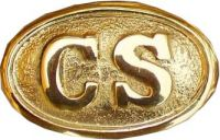 Brass-Copper Belt Buckle