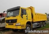 HOWO 6X4 Tipper with berth