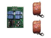 Two motors Forward reverse RF Wireless Remote Control switch DC9V/12V/24V