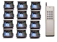 12 channle  12x1channel  rf wireless remote control switch DC12V