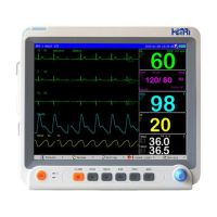 Hospital patient monitor,six parameters