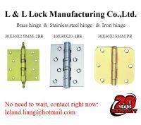 Stainless steel hinge door viewer door stopper door chain