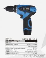 12V Li-ion battery two speed cordless drill