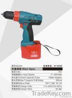 Ni-Cd battery cordless drill