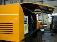 Motor Trailer-Mounted Concrete Pump (HBTS60.13-90E)