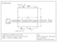 Radiator BC-800111048 for DAEWOO TICO MT, OE:17700-A78B00-000