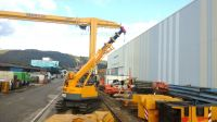 Telescopic crawler Crane capacity 8.3T
