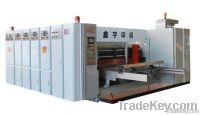 lead edge high speed printing rotary die-cutting with slotting machine