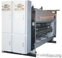 lead edge high speed printing rotary die-cutting with slotting machine