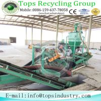 Highly Promotion Used Tire Recycling Line Manufacturer