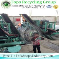 Used  Tyre Recycling Crushing Machine For Sale