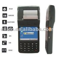 POS camera RFID WIFI thermal printer PDA portable handheld barcode scanner terminal with gprs  bluetooth