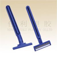 double blade razor for men with stainless steel blade