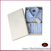 High-end rigid paper shirt box